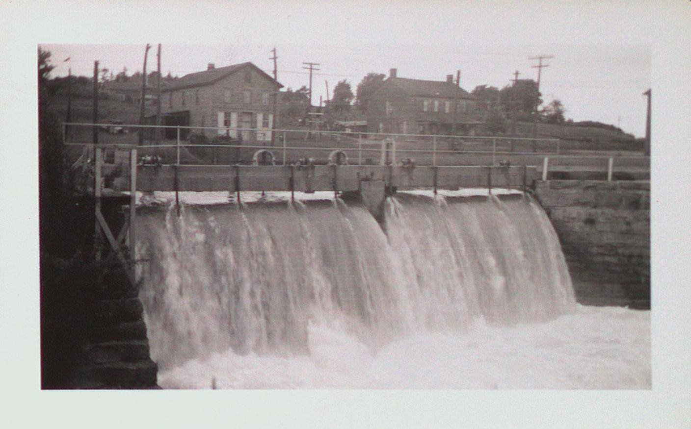 The Dam Next to the Garden City Paper Mill