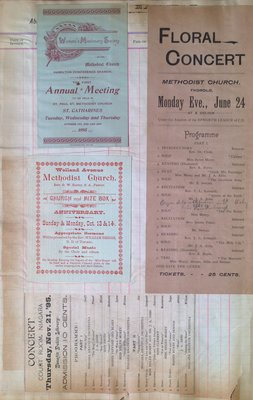 Teresa Vanderburgh's Musical Scrapbook #1 - Concert Programs and Pamphlets
