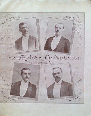 Teresa Vanderburgh's Musical Scrapbook #1 - The Aeolian Quartette