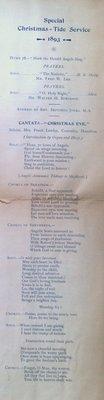 Teresa Vanderburgh's Musical Scrapbook #1 - Christmas Program