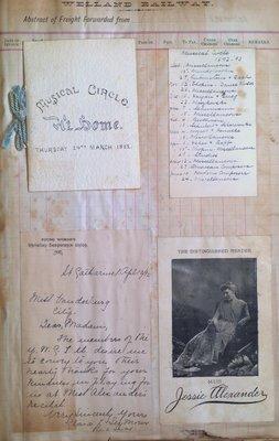 Teresa Vanderburgh's Musical Scrapbook #1 - Musical Programs