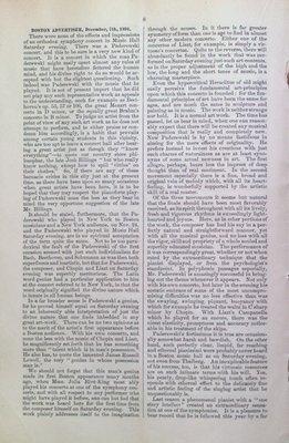 Teresa Vanderburgh's Musical Scrapbook #1 - Paderewaski Press Notices