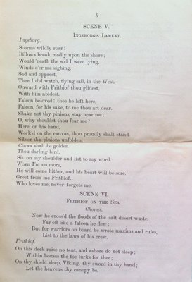 Teresa Vanderburgh's Musical Scrapbook #1 - Max Bruch's Cantata Frithiof