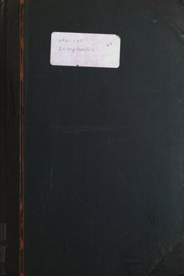 Teresa Vanderburgh's Musical Scrapbook #2 - Cover