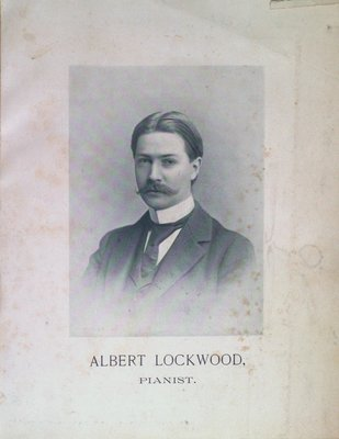 Teresa Vanderburgh's Musical Scrapbook #2 - Albert Lockwood, Pianist