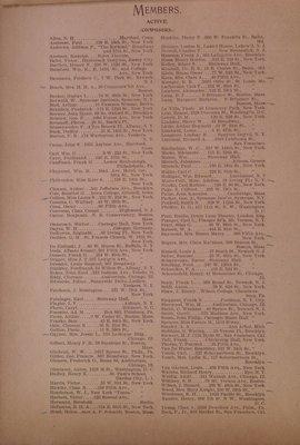 Teresa Vanderburgh's Musical Scrapbook #2 - Manuscript Society of New York - Program