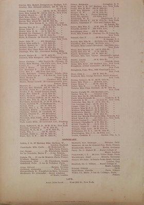 Teresa Vanderburgh's Musical Scrapbook #2 - Manuscript Society of New York Program