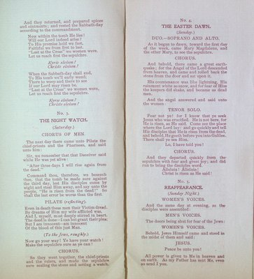 Teresa Vanderburgh's Musical Scrapbook #2 - Musical Service at St. Thomas Church