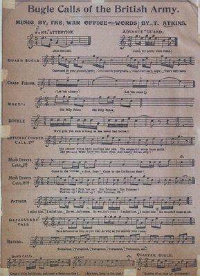 Teresa Vanderburgh's Musical Scrapbook #2 - Bugle Calls of the British Army