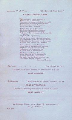 Teresa Vanderburgh's Musical Scrapbook #2 - Musical Circle Piano Recital