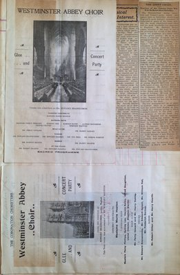 Teresa Vanderburgh's Musical Scrapbook #2 - Westminster Abbey Choir