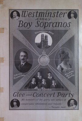 Teresa Vanderburgh's Musical Scrapbook #2 - Westminster Abbey Glee and Concert Party