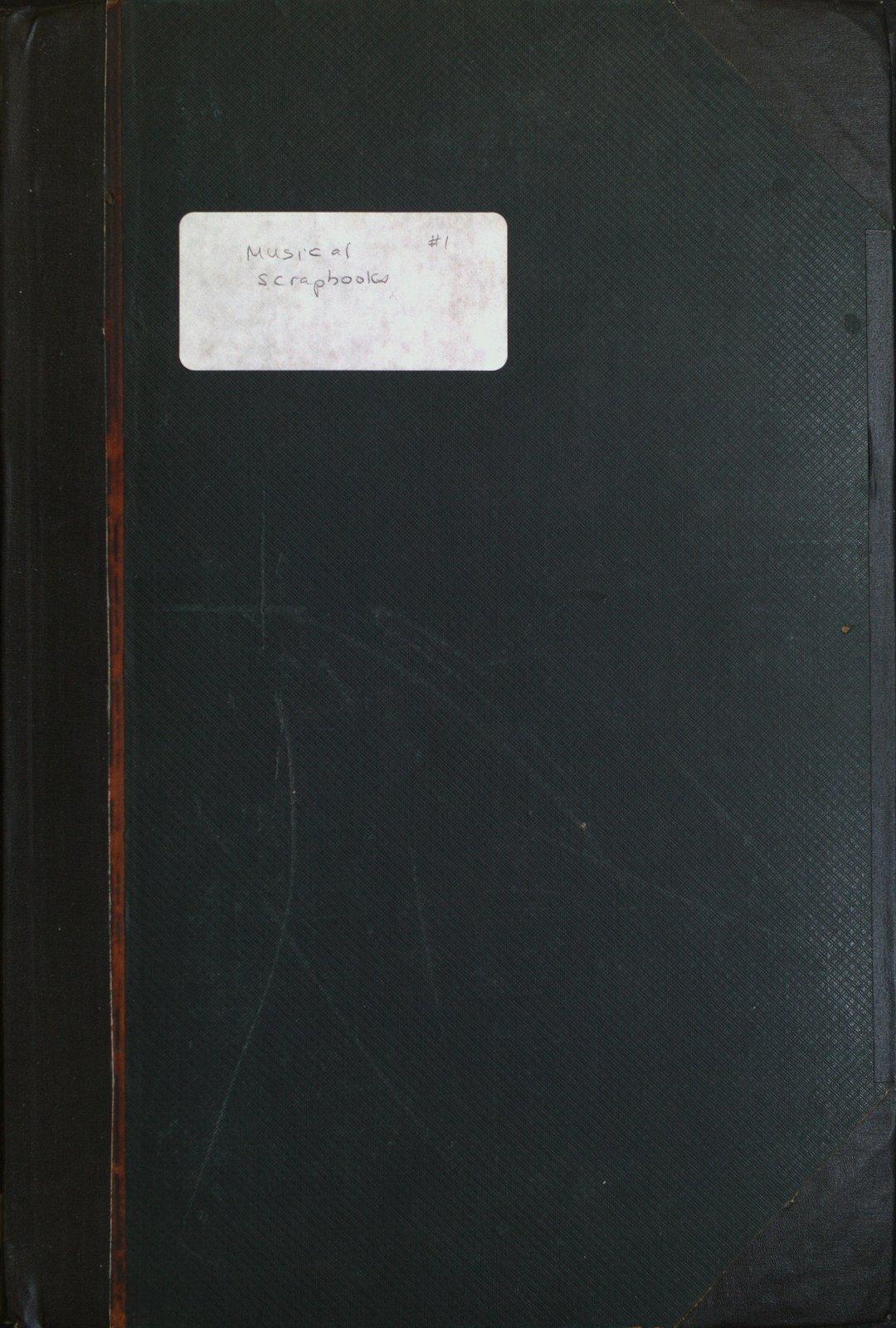 Teresa Vanderburgh's Musical Scrapbook #1