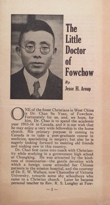 The Little Doctor of Fowchow