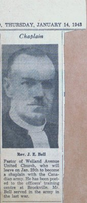 Reverend J.E. Bell