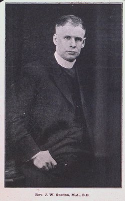 A Picture of Reverend J.W. Gordon