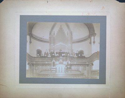 Interior of St. Paul Street Methodist Church