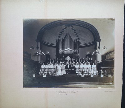 Festival Chorus at St. Paul Street Methodist Church