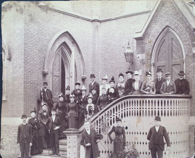 Members of Welland Avenue Methodist Church