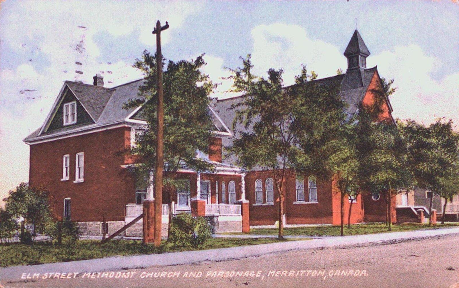 Elm Street Methodist Church and Parsonage