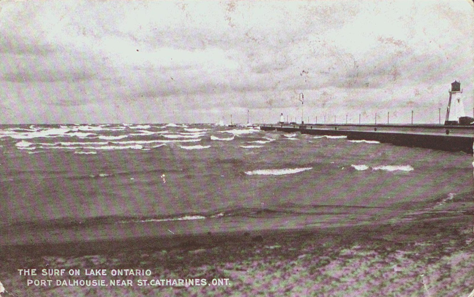 The Surf on Lake Ontario at Port Dalhousie