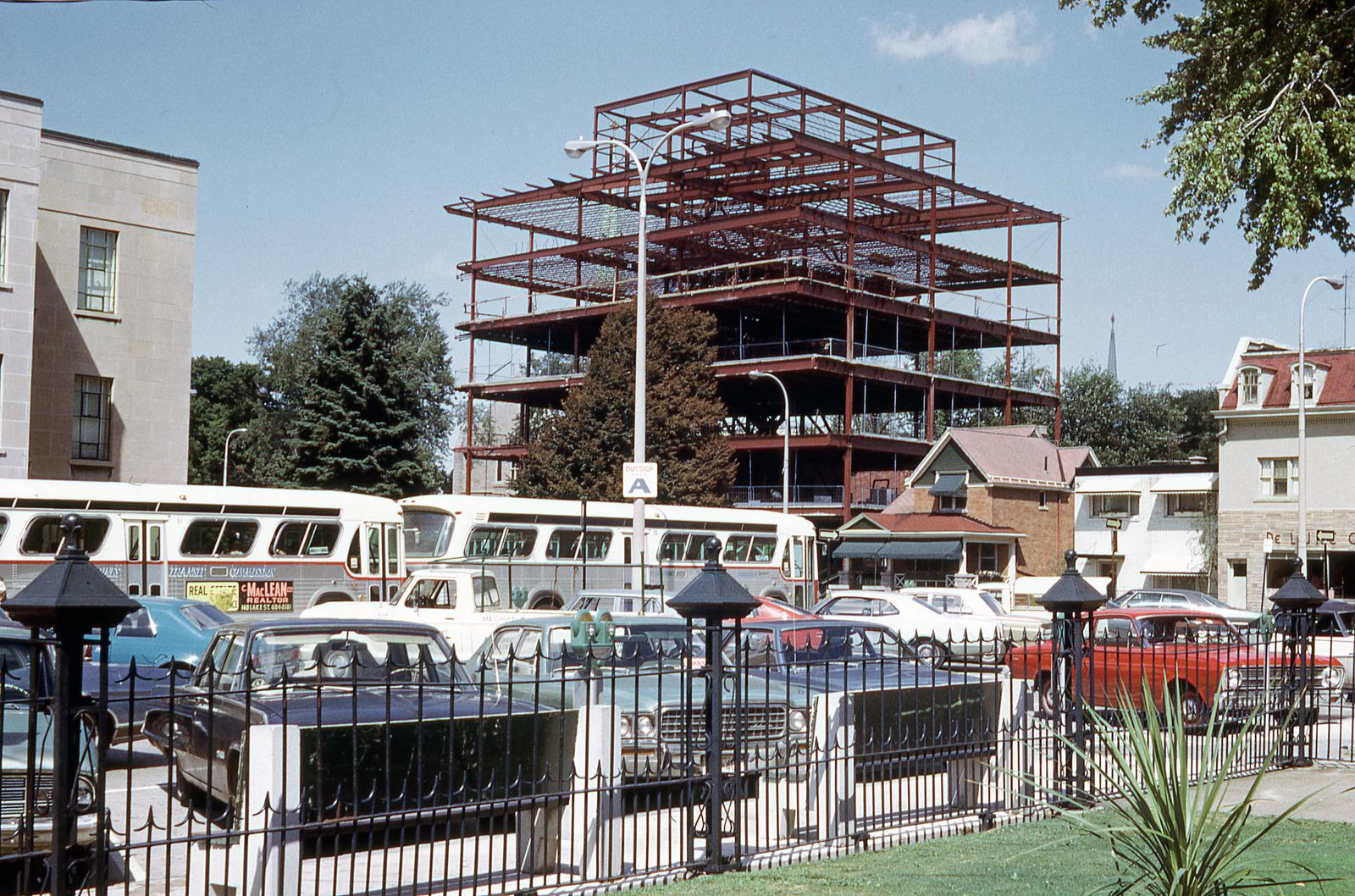 The Construction of the Taro Building