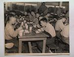 Cadets Eating in a Mess Hall