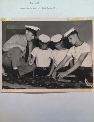 Sea Cadets Instructed in use of Bottle Screw Slip