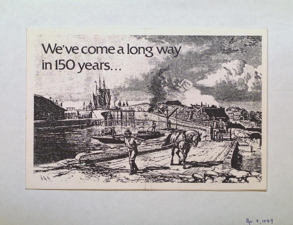 "The Christening of M.V. ""Canadian Transport"""