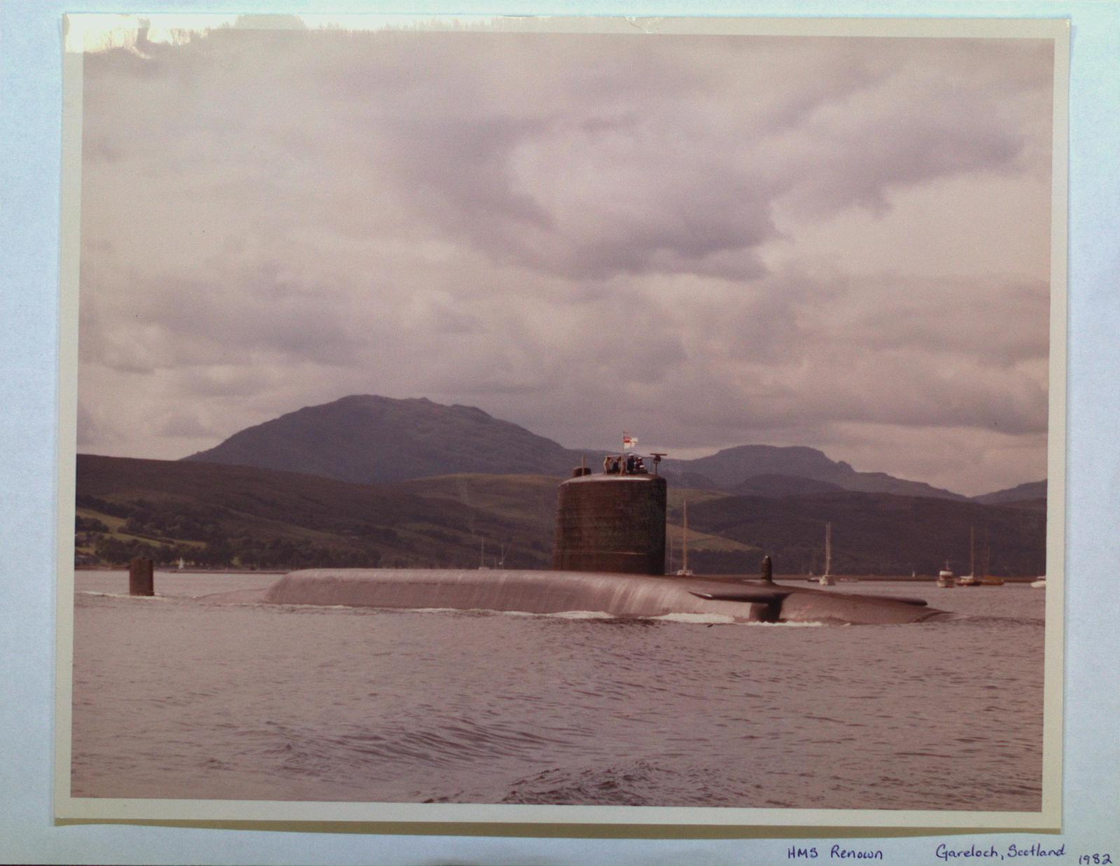 """HMS """"Renown"""" Submarine"""