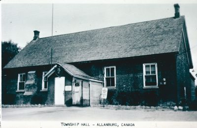 Township Hall, Allanburg