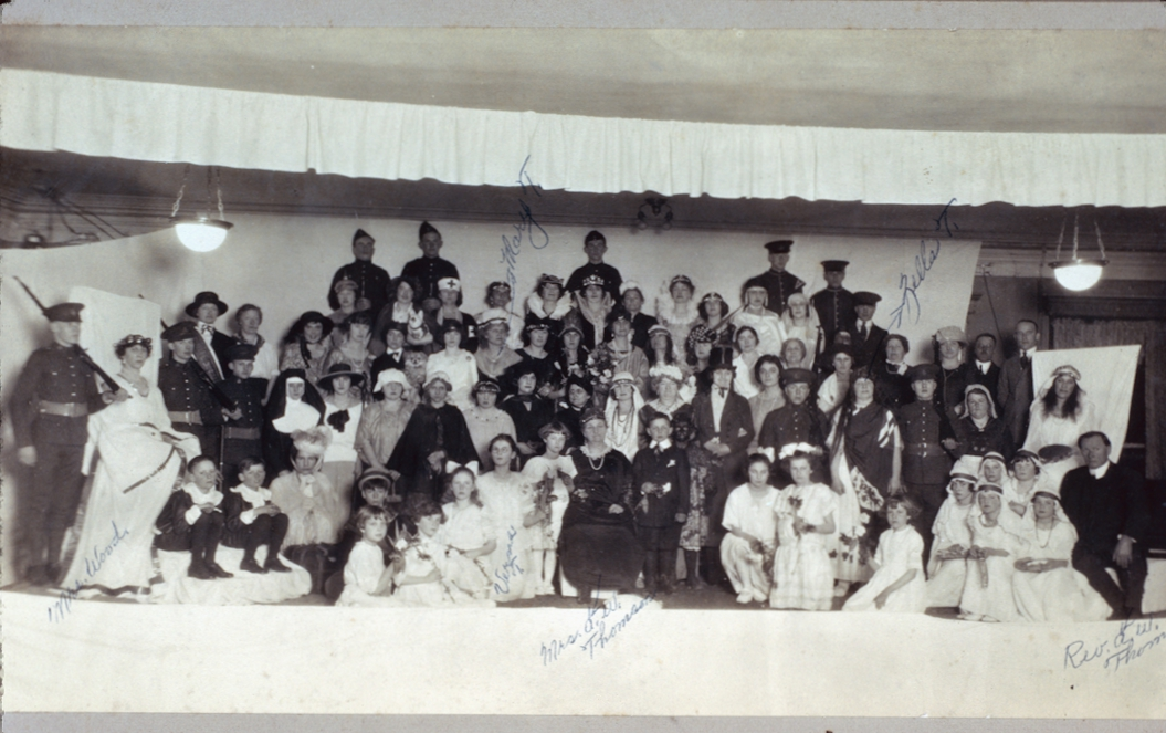 The Cast of a Play