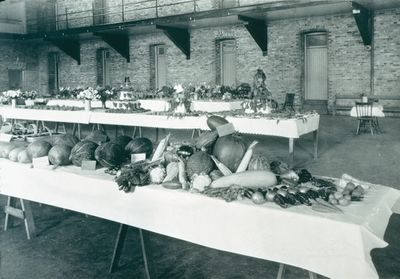 A Display of Fall Fruits, Vegetables, and Flowers at the St. Catharines Armoury