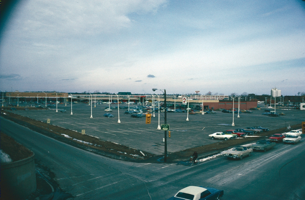 The Parking Lot of the Fairview Mall
