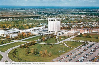 Brock University & Arthur Schmon Tower