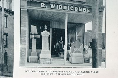 Widdicombe's Ornamental Granite and Marble Works