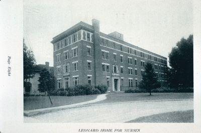 Leonard Home for Nurses