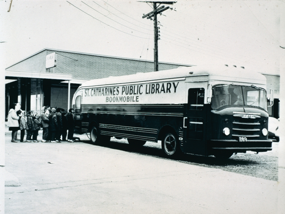 St. Catharines Public Library Bookmobile