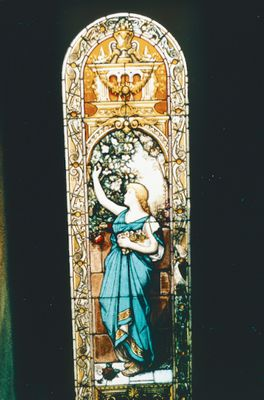 Stained Glass Window From the McSloy House