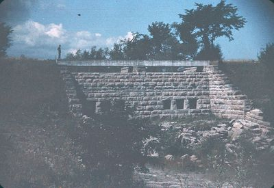 Weir Structure on Old Canal