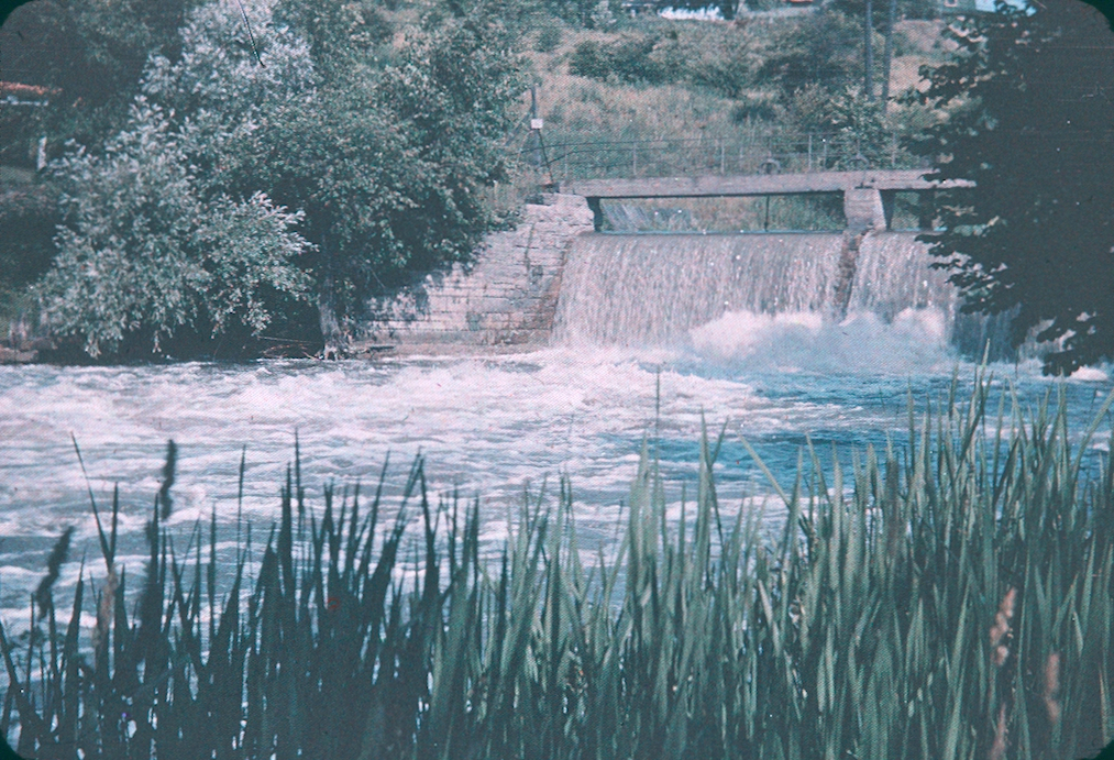 A Weir Along the Old Canal