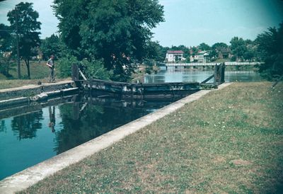 A Lock on the Old Welland Canal