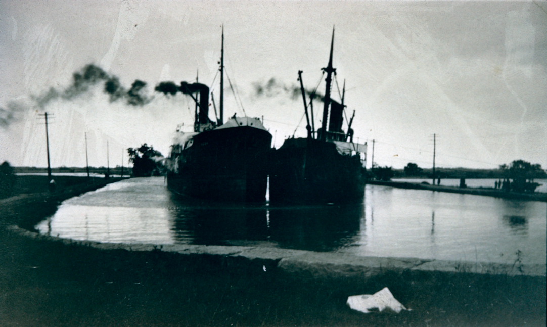 A Collision along the Welland Canal