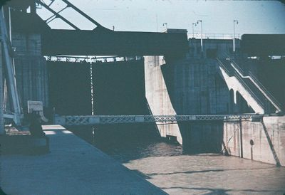 Lock 4 on the Welland Ship Canal