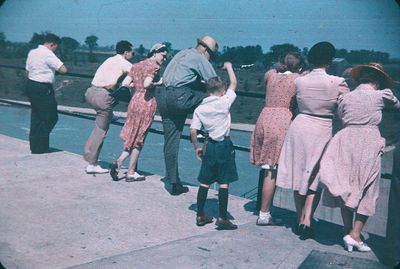 A Group Viewing along the Welland Ship Canal