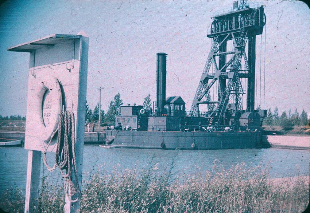 Equipment Along the Welland Ship Canal