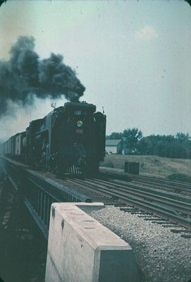 A Train and Railway Bridge