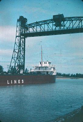 A Vertical Lift Bridge on the Welland Ship Canal
