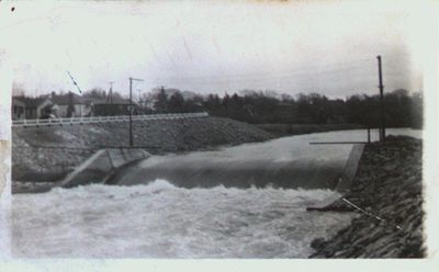 Overflow Dam at Welland Vale