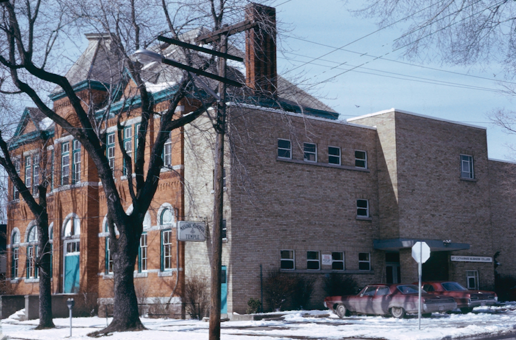 The St. Catharines Business College and the Masonic Temple